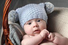 the online pattern store Baby Hat Knitting Pattern, Baby Knitting, Knitting Patterns, Weaving Patterns, Knitting Ideas, Crochet Patterns, Knitted Hats, Crochet Hats, Kids Hats