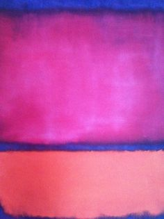 #markrothko #painting  Would look beautiful in my gray living room. (not sure this is Rothko--need to double check--but, I dig it)
