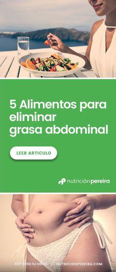 ¿Has conseguido acabar con el temido michelin? El verano se acerca. Descubre 5 alimentos para eliminar la grasa abdominal de una vez por todas. . . . . . . . . . #grasaabdominal #grasavisceral #quemagrasa #perdergrasa #perderpeso #cambiodehabitos #nodieta #pesosaludable #alimentacionsana #alimentatusalud #nutricionpereira