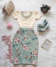 Graduation Outfit Ideas For Every Style Teen Fashion Outfits, Modest Fashion, Cute Fashion, Fashion Dresses, Fashion Ideas, Fashion Trends, Modest Outfits, Skirt Outfits, Chic Outfits