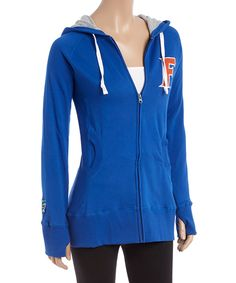 Look at this Florida Gators Long Zip-Up Hoodie - Women on #zulily today!