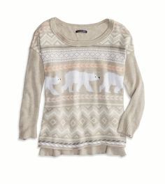 Cute Polar Bear Sweater $49