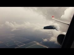 Massive UFO over Germany filmed from Airplane - Dec 2015 !!! - YouTube
