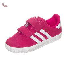 adidas Gazelle 2 Cf Bébé Rose Rose 26 - Chaussures adidas (*Partner-Link)