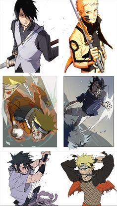 Evolution Of Naruto and Sasuke Naruto Shippuden Sasuke, Naruto Kakashi, Anime Naruto, Fan Art Naruto, Wallpaper Naruto Shippuden, Naruto Comic, Boruto, Naruto Wallpaper, Manga Anime