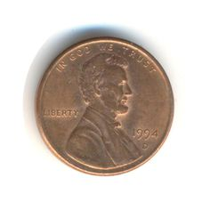 USA One Cent 1994 (D) Coin (Code:RSC1026) by COINSnCARDS on Etsy Old Coins, Rare Coins, Saving Coins, Rare Pennies, Valuable Coins, Postcards For Sale, American Coins, Coin Worth, Coins For Sale