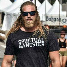 Is Spiritual GANGSTER on the menu? How bout a VIKING? I'll take that to go…