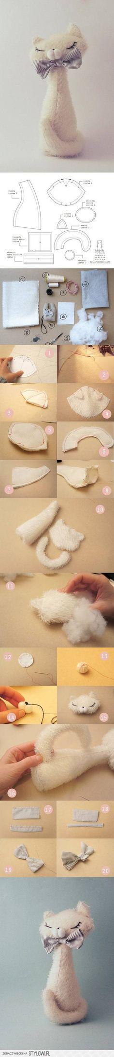 DIY Elegant Cat DIY Projects | UsefulDIY.com na Stylowi.pl