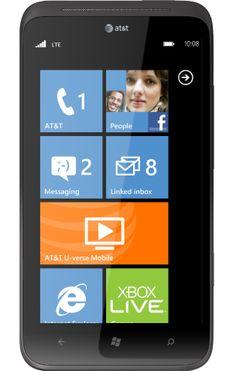 The HTC TITAN - my phone!  Best phone I've ever had!