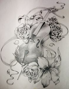 My sister drew this up almost identical to this for me to have as a tattoo