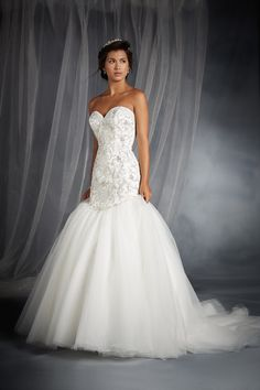 Ariel Inspired Wedding Gown - 2015 Disney's Fairy Tale Weddings by Alfred Angelo Collection