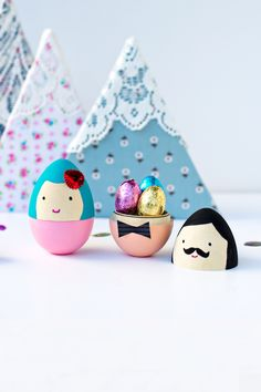 #DIY Mr & Mrs Egg
