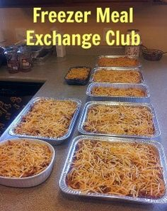 Save time in the kitchen and lighten the stress at dinner time. Join or start a freezer meal exchange club!