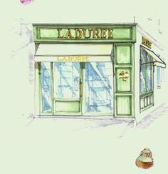 Ladurée Saint-Tropez.    La Maison Ladurée est heureuse de vous annoncer  l'ouverture de sa première boutique en province, à Saint-Tropez. Le 1er Juillet 2012.
