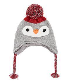 novelty penguin trapper hat