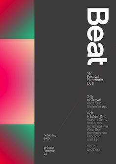 Beat festival Poster — marindsgn | Flickr   Photo Sharing!