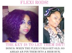Natural hair -How to Curl Hair Using the No Heat Method!