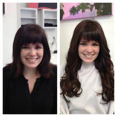 Another great Hair Extension before and after using Hair Dreams Hair Extensions by Hair Is Power in San Diego www.HairIsPower.com 619-301-5946