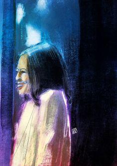 Kamala Harris on Behance Kamala Harris, Ipad Pro, Mona Lisa, Digital Art, Behance, Illustration, Artwork, Painting, Work Of Art