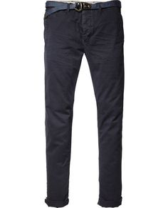 Relaxed Slim Fit Chino Pants
