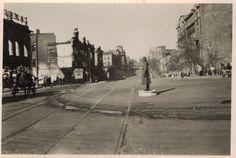 Перекресток Буденновского и Большой Садовой. Вид от Садовой на север.