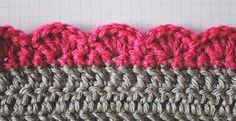 5 Crochet Edges You Should Know - Crochet Free
