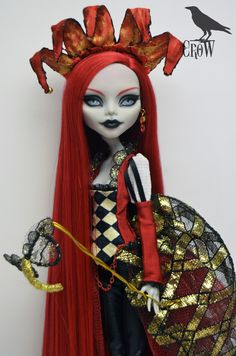 Monster high custom by Crow