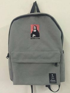 2016 New embroidery printing backpack junior high school students shoulder  bag women daily backpack casual travel 395f486e7a886