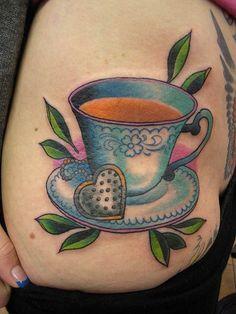 teacup #Tattoos #Girls