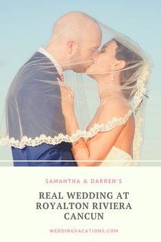 Destination wedding at Royalton Riviera Cancun by Romanza Photography - Samantha & Darren - Weddingvacations.com