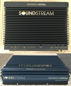 SOUNDSTREAM Reference 500SX 2 Channel Amplifier.