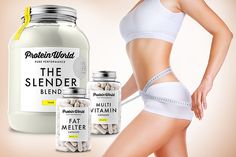 Slender Blend, Fat Melter & MultiVit Capsules