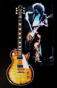 Jimmy Page's Les Paul Guitar.