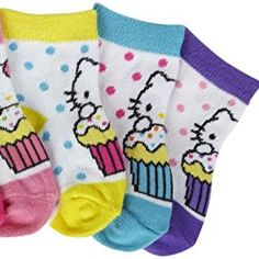 86c008ea2 Hello Kitty Baby Girls' ke Anklet Socks (Baby)-Hello Kitty - 0-12 Months