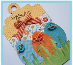 Happy Egg Hunting Tag - eggs from Doodlecharms