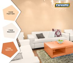 #CeresitaCL #PinturasCeresita #Color #Living #Pintura #Decoración #Hogar #Home #Deco #Tendencia #Estilo *Códigos de color sólo para uso referencial. Los colores podrían lucir diferentes, según calibrado de su monitor.