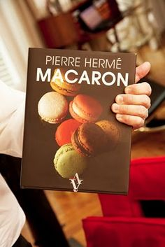 I am obsessed with Pierre Herme macarons!  If you can't get to one of his stores in France, London or Tokyo, then you need to own this book!