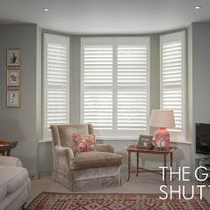The Great Shutter Co. Window Shutters, Business Photos, Blinds, Living Spaces, Windows, Curtains, Doors, Home Decor, Shutters