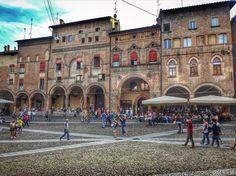 Piazza Santo Stefano, Bolonha, Itália