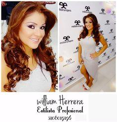 Finalizo mi día con este perfecto y hermoso trabajo. Un maquillaje fresco y chic acompañado de unas hermosas ondas, un look muy versátil que podrás acompañar con vestidos no tan elegantes o muy elegantes. #FelizMartes #Style#Look #Belleza #MakeUp #MAC #Maquillaje #Peluquería #HairStyle #Hair #Ondas #Estilista #Profesional #Pro #CaliCo #Cali #Colombia