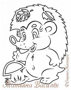 В лес по ягоды - грибы Весело шагаем, Как съедобные найти Мы с друзьями знаем!  Вот такой поход за грибами у меня получился:) (Новые осенние вырезалочки). фото 11 Autumn Crafts, Fall Crafts For Kids, Autumn Art, Diy For Kids, Diy And Crafts, Paper Crafts, Glass Painting Designs, Paint Designs, Animal Coloring Pages