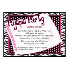 Pajama Party In Black and Pink Dots Personalized Invite In our offer link above you will seeDeals          Pajama Party In Black and Pink Dots Personalized Invite Review on the This website by click the button below...