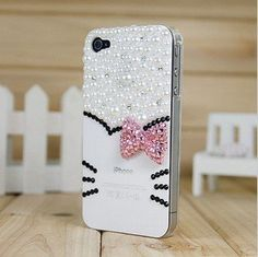 3D Bling Crystal Pink Hello Kitty Head Case Cover For iphone 4/4s + Free Protective Film +Bling dust-proof plug by SKYTECH INC, http://www.amazon.co.uk/dp/B00D74OXJU/ref=cm_sw_r_pi_dp_Vtgasb0046NPG
