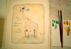 philosophical giraffe.. allielenaburg.tumblr.com