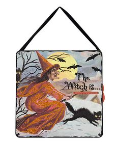 This The Witch Countdown Wall Décor by Primitives by Kathy is perfect! #zulilyfinds