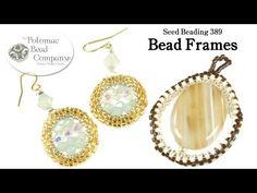 ▶ How to Make Beaded Bead Frames - YouTube