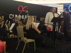 Cumhuriyet Konseri Brandium'da...