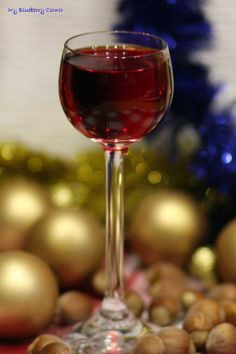 Świąteczna nalewka z jeżyn - My Blueberry Corner