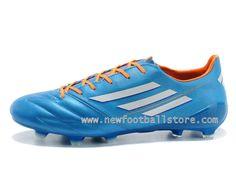 Homme Adidas Chaussures Adizero Leo Messis F50 XI TRX FG Synthetic Vert  Adizero F50 XI TRX FG Synthetic Color Bleu , Style - Couleur # F327...