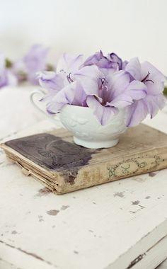 ❧ Des livres et des fleurs ❧